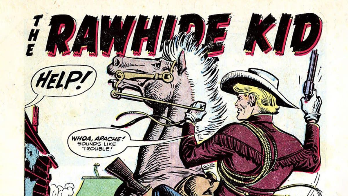 Rawhide Kid #1 (Marvel, 1955), title splash.