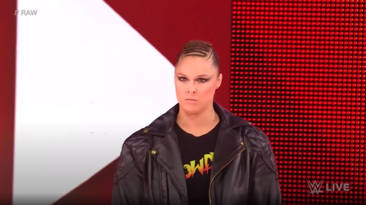 Ronda Rousey appears on WWE Raw