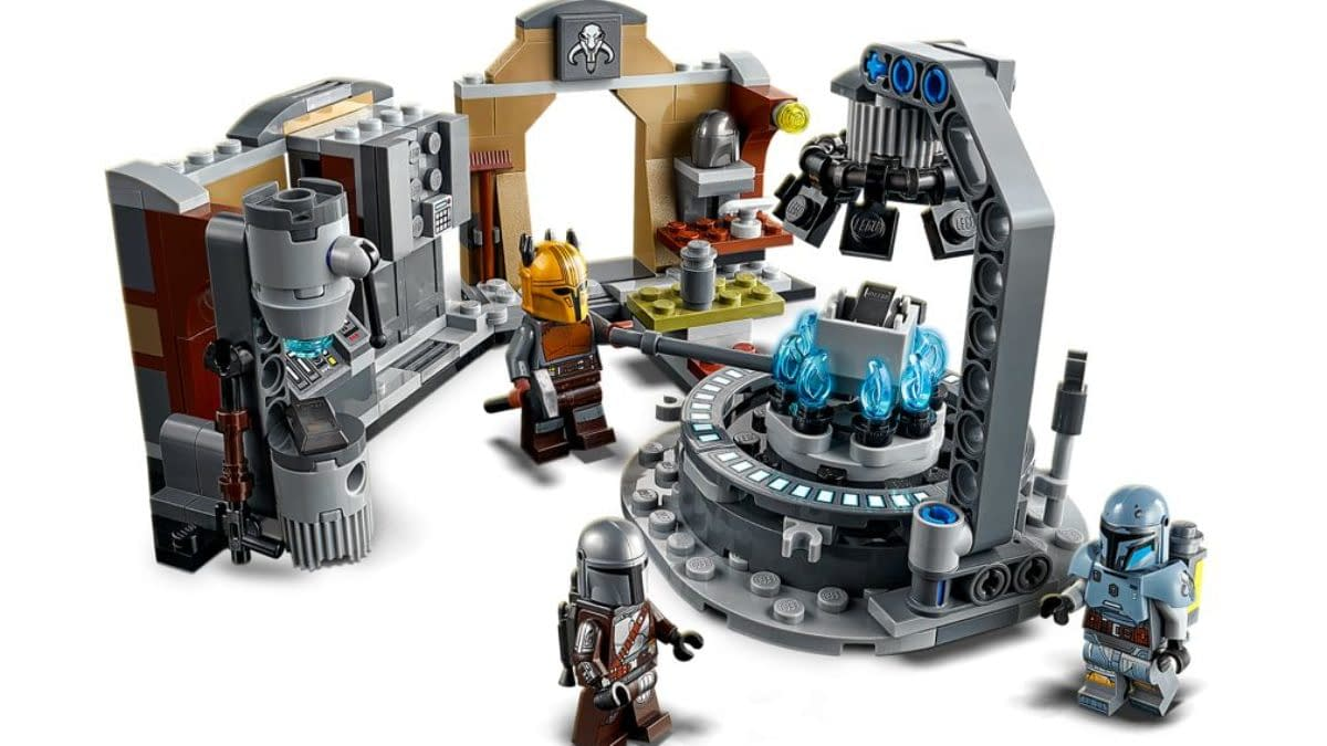 Enter The Mandalorian's Armory With LEGO's New Star Wars Set