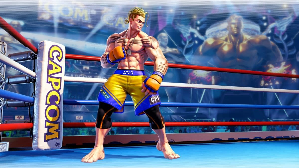 Capcom Reveals Luke As The Last Street Fighter V DLC Character