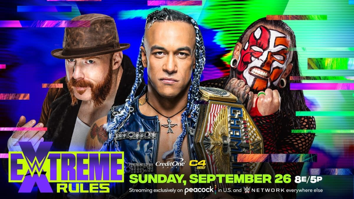 Reigns and Balor Get Hardcore; Jeff Hardy Joins Extreme Rules Card