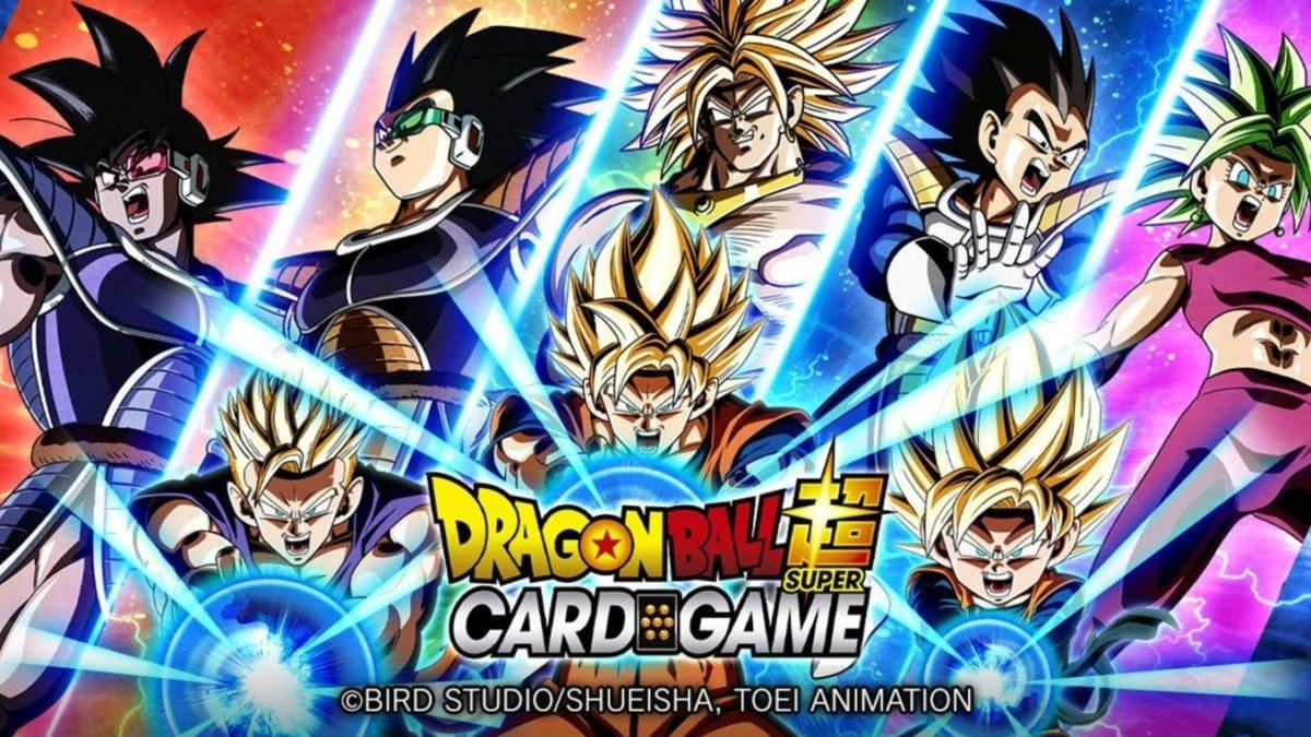 Dragon Ball Super Card Game Announces New Set: Saiyan Showdown