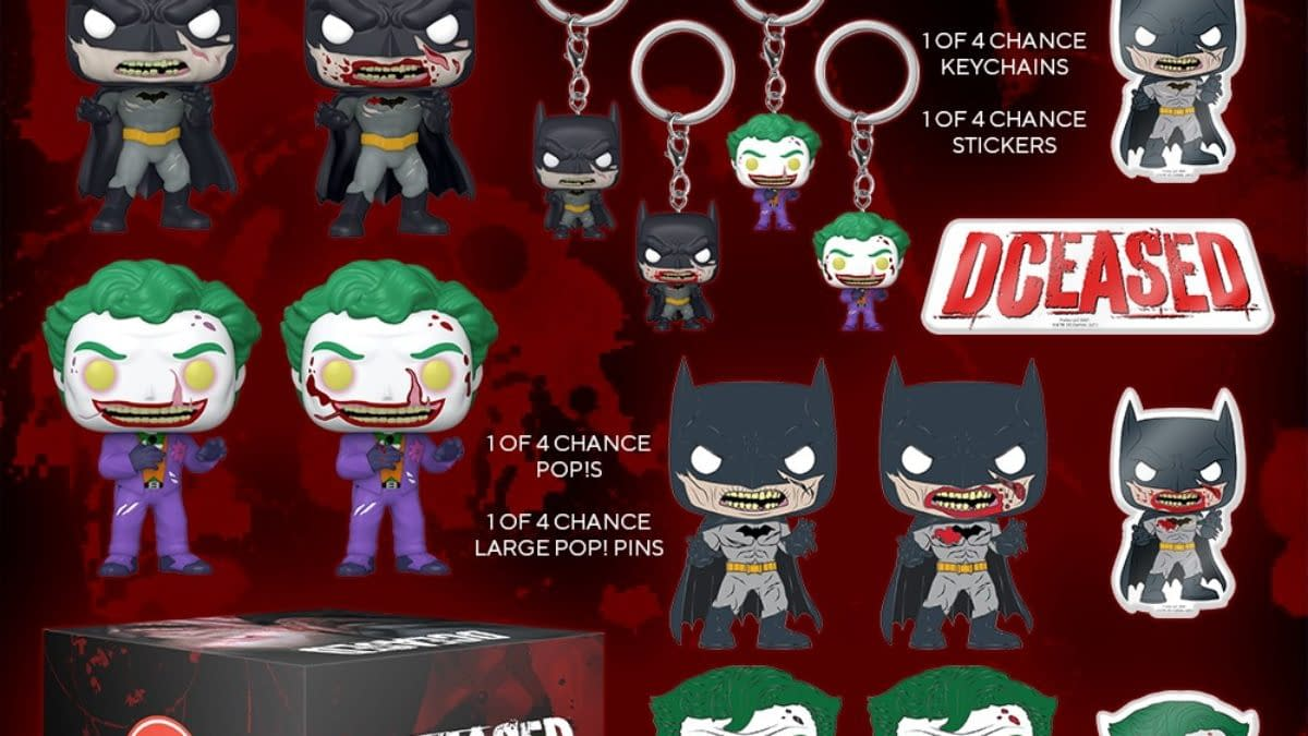 DC Comics DCeased Comes to Funko with GameStop Mystery Box