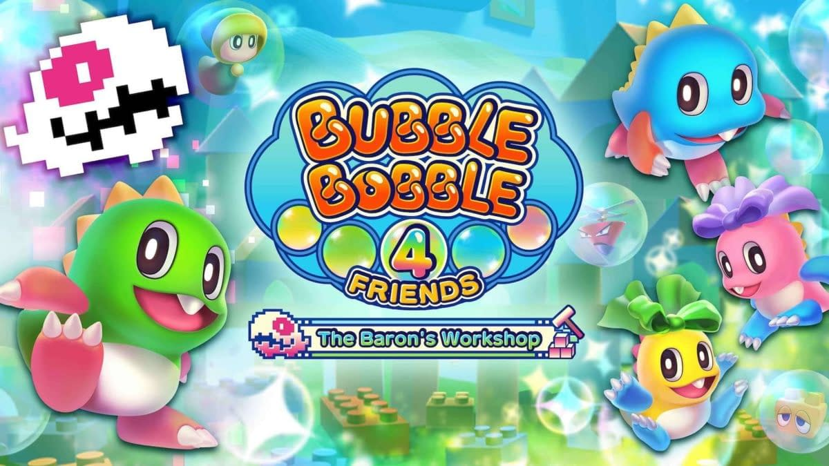 Bubble Bobble 4 Friends Comes To Steam On September 30th