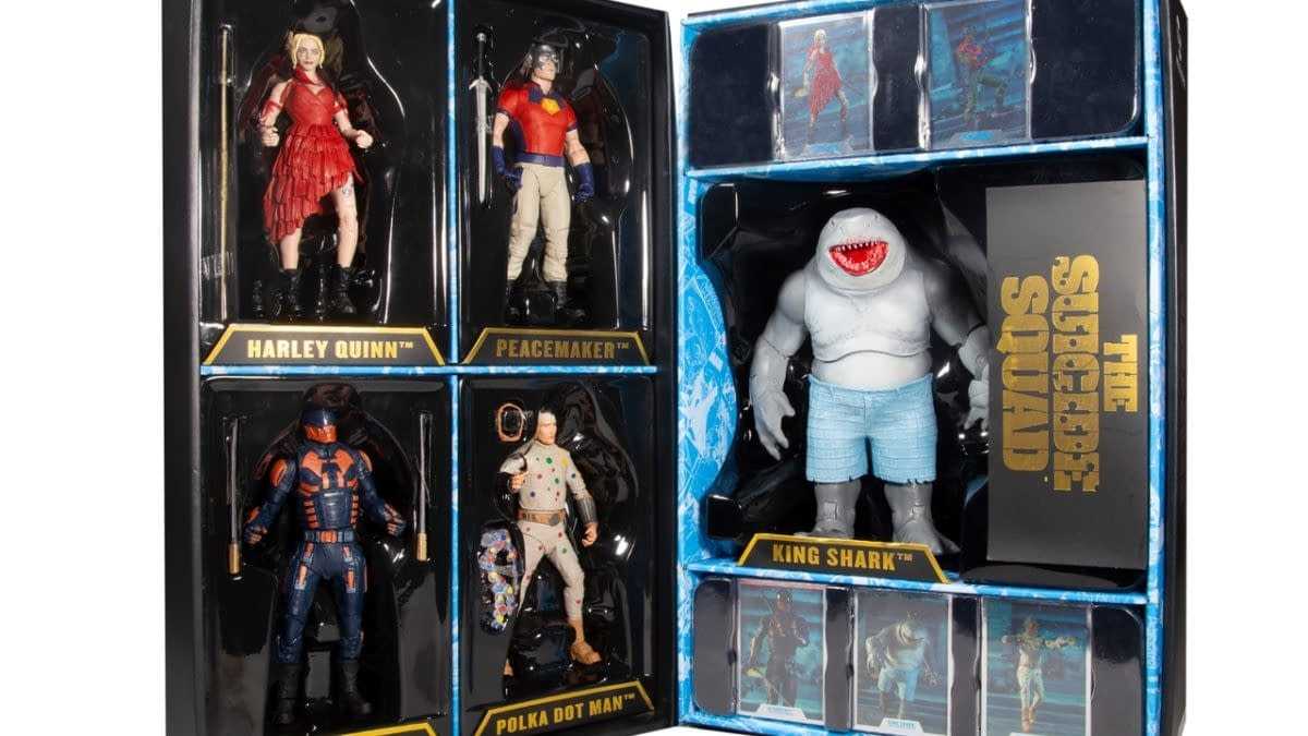 McFarlane Toys Reveals Exclusive The Suicide Squad 5-Pack Set