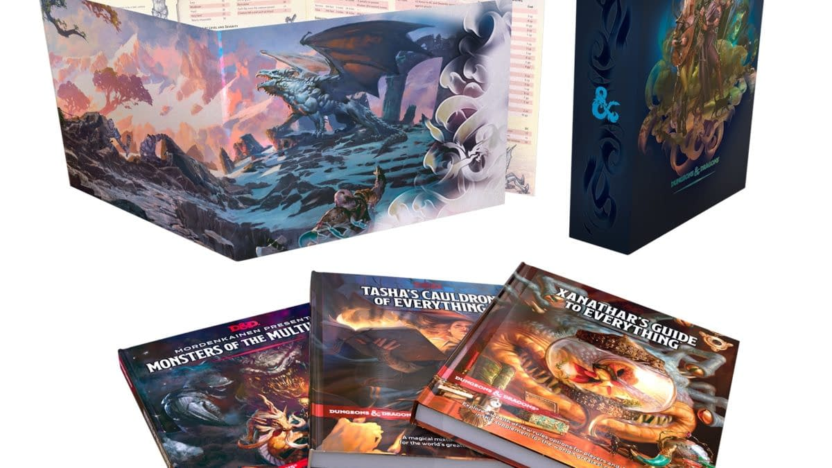 Dungeons & Dragons Announces Rules Expansion Gift Set