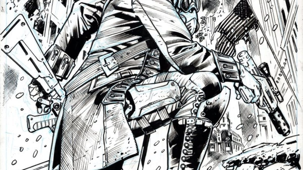 First Look At Bryan Hitch and Geoff Johns' Redcoat