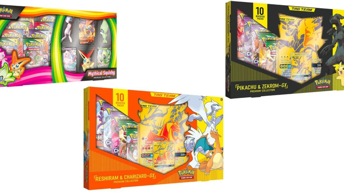 The New Pokémon TCG Tag Team Collections to Be Store-Exclusive