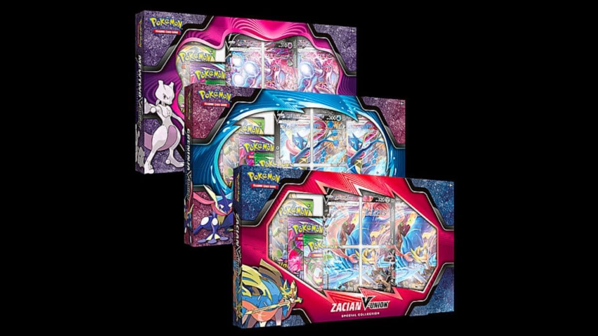 Pokémon TCG Releases First V-UNION Collection Boxes Today