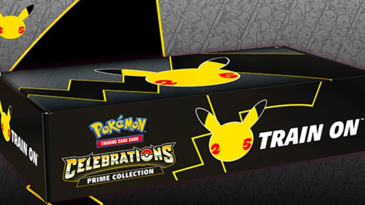 This Pokémon TCG Celebrations Product Will Be Amazon-Exclusive