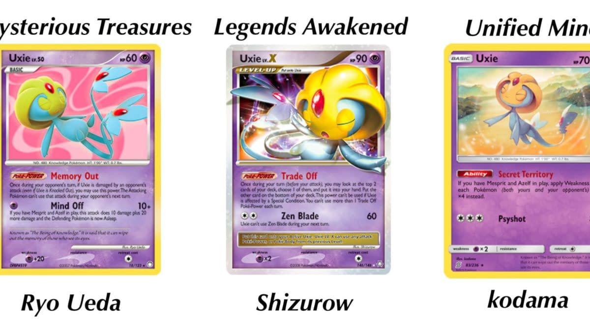 Pokémon TCG Spotlight: Some of the Best Uxie Cards