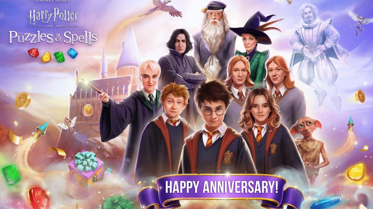 Harry Potter: Puzzles & Spells Celebrates One-Year Anniversary