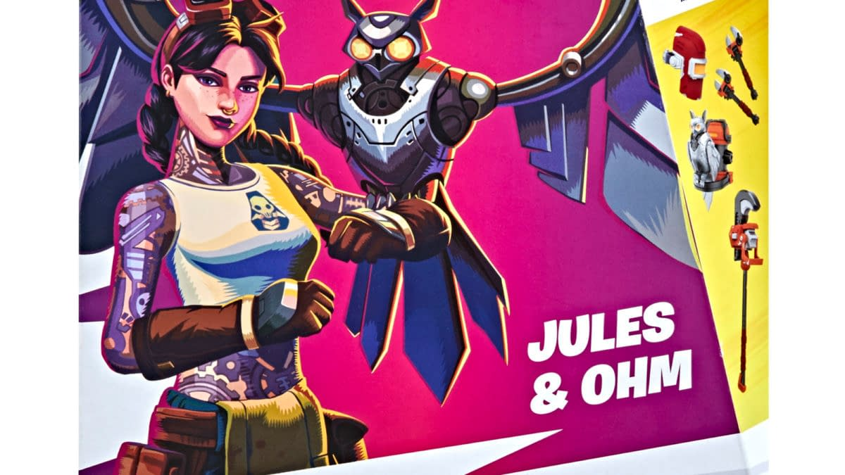 Fortnite Jules and Ohm Arrive at Hasbro with New Victory Royale Figure