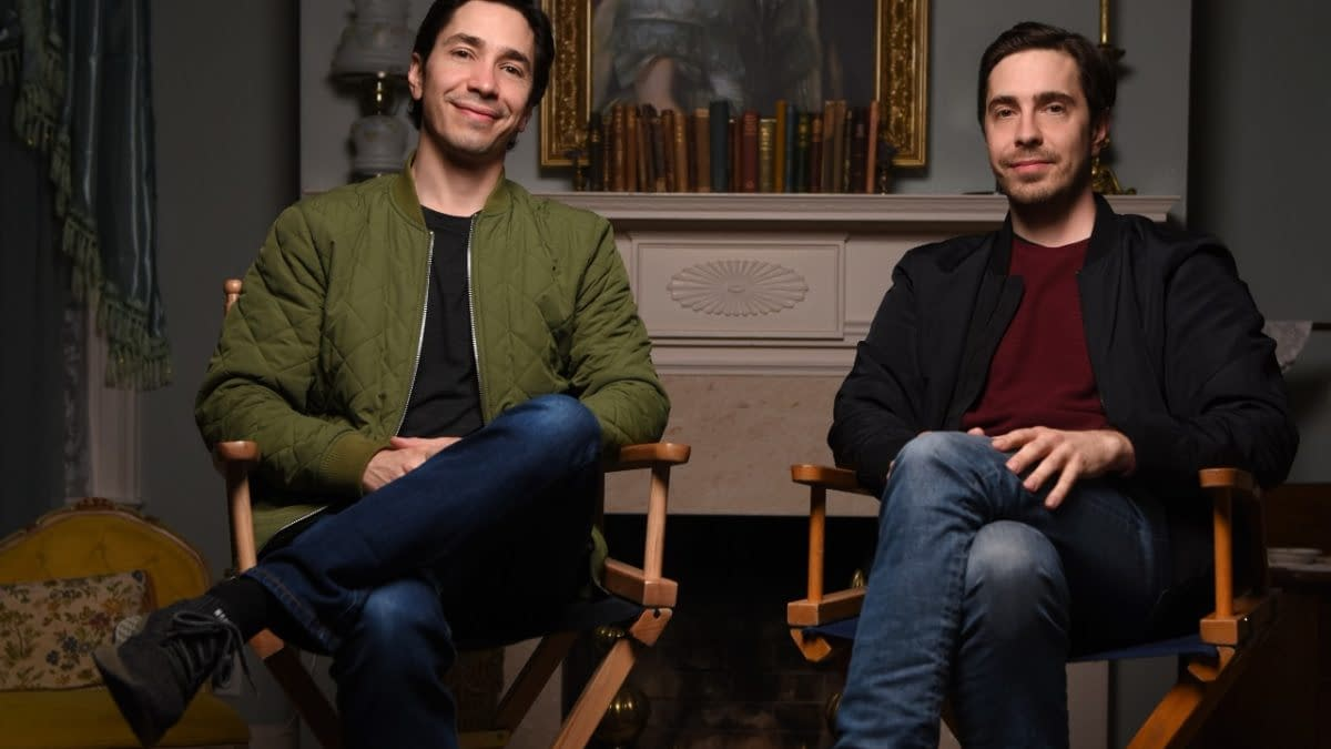 Lady of the Manor Creative Duo Christian, Justin Long Talk Comedy