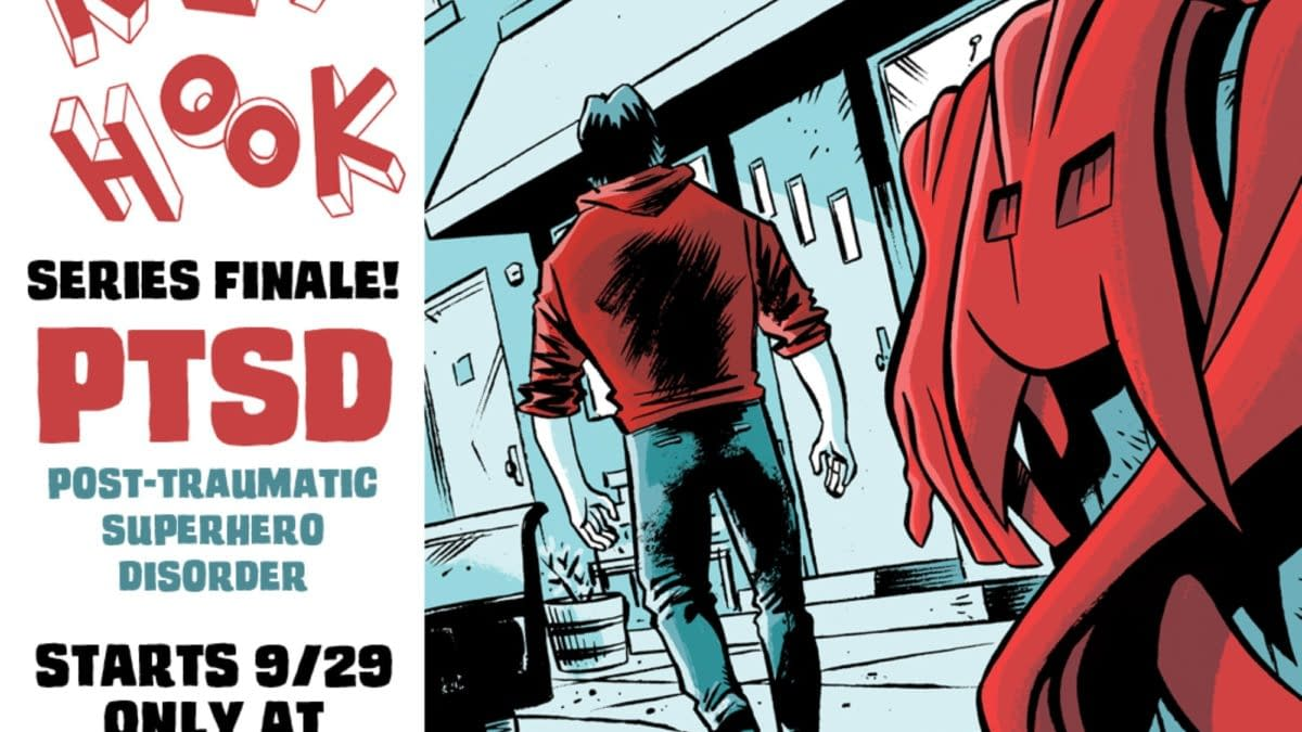 Dean Haspiel's Red Hook Ends With Post-Traumatic Superhero Disorder
