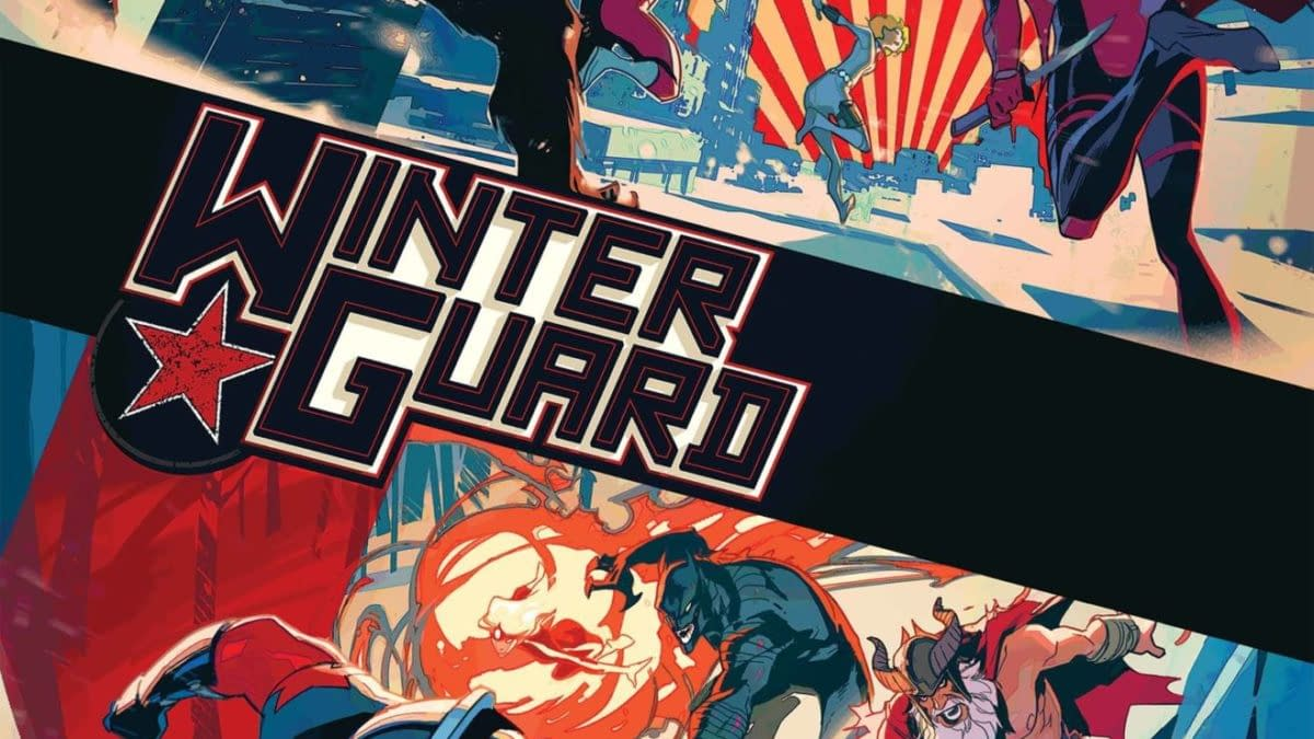Cover image for WINTER GUARD #2 (OF 4)