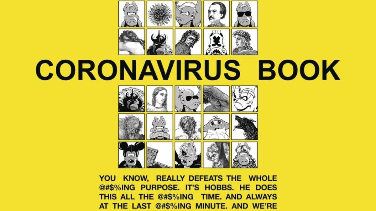 Cover image for CORONAVIRUS BOOK ONE SHOT