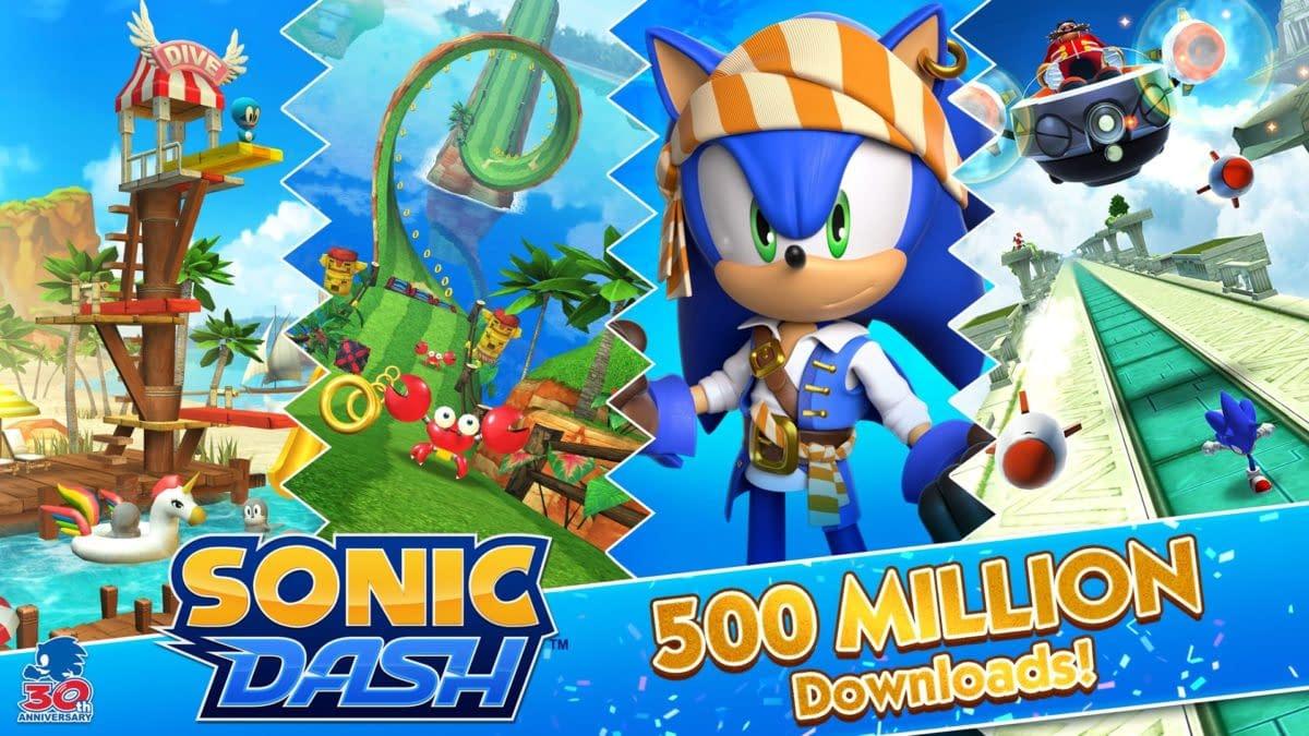 Sonic Dash Surpasses 500 Million Downloads Milestone