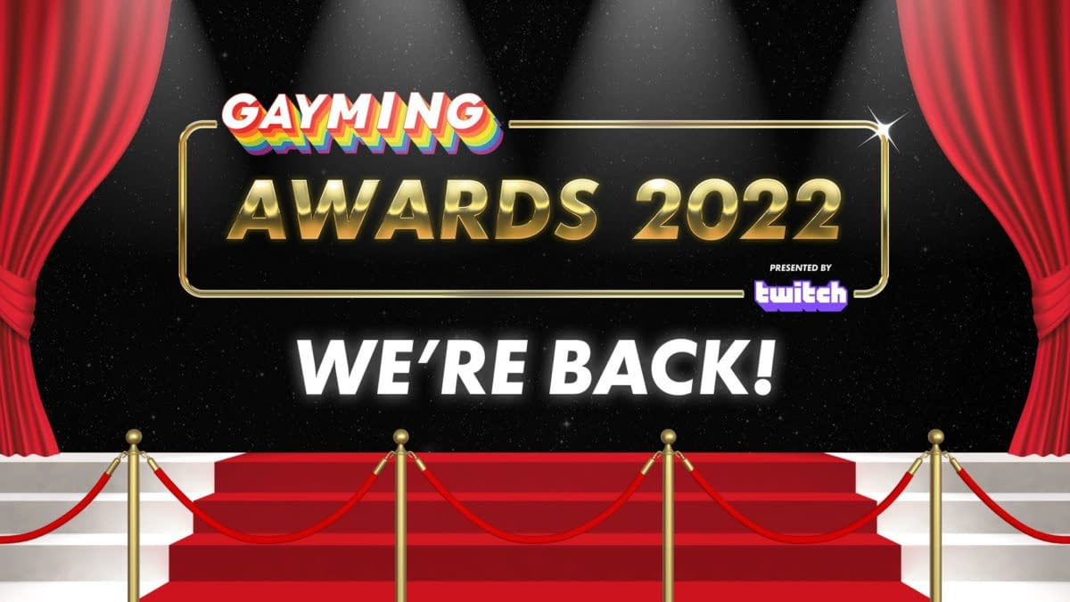 Gayming Awards Returns With Twitch As Long-Term Presenting Sponsor