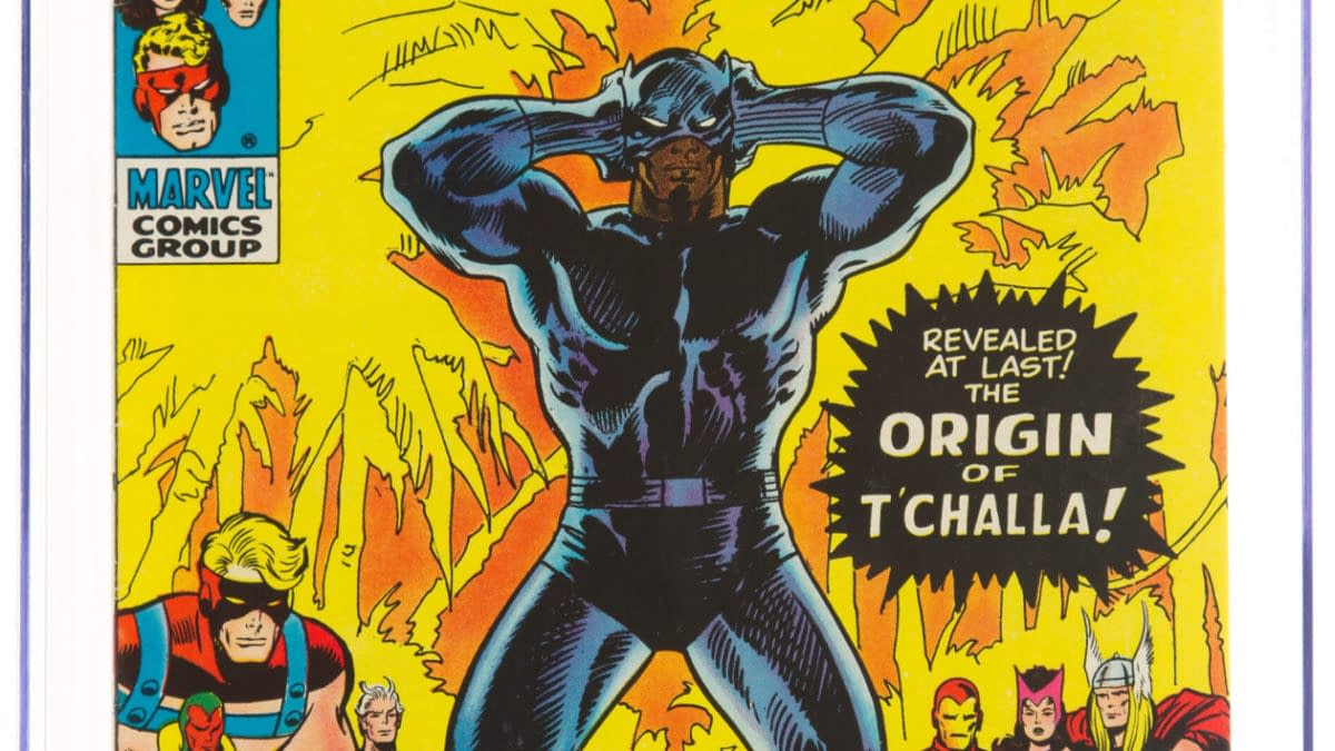 When Marvel Comics First Published The Origin Of Black Panther