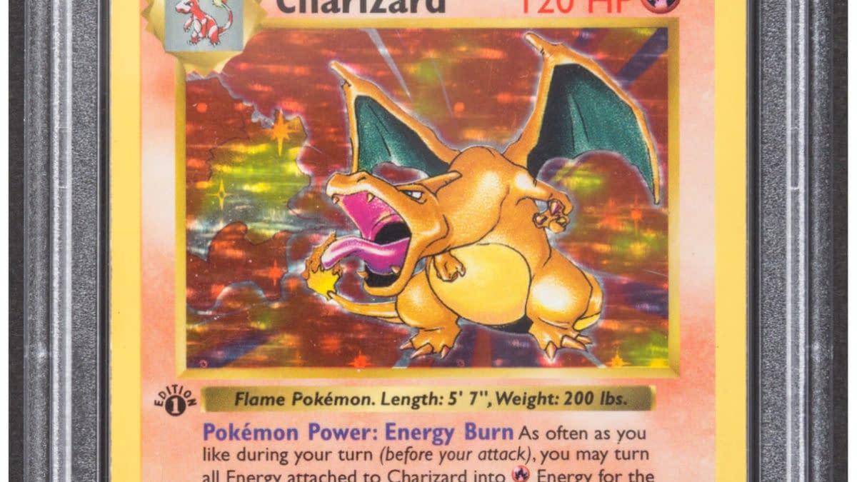 Pokémon TCG Graded 1st Ed Base Set Charizard Auction At Heritage