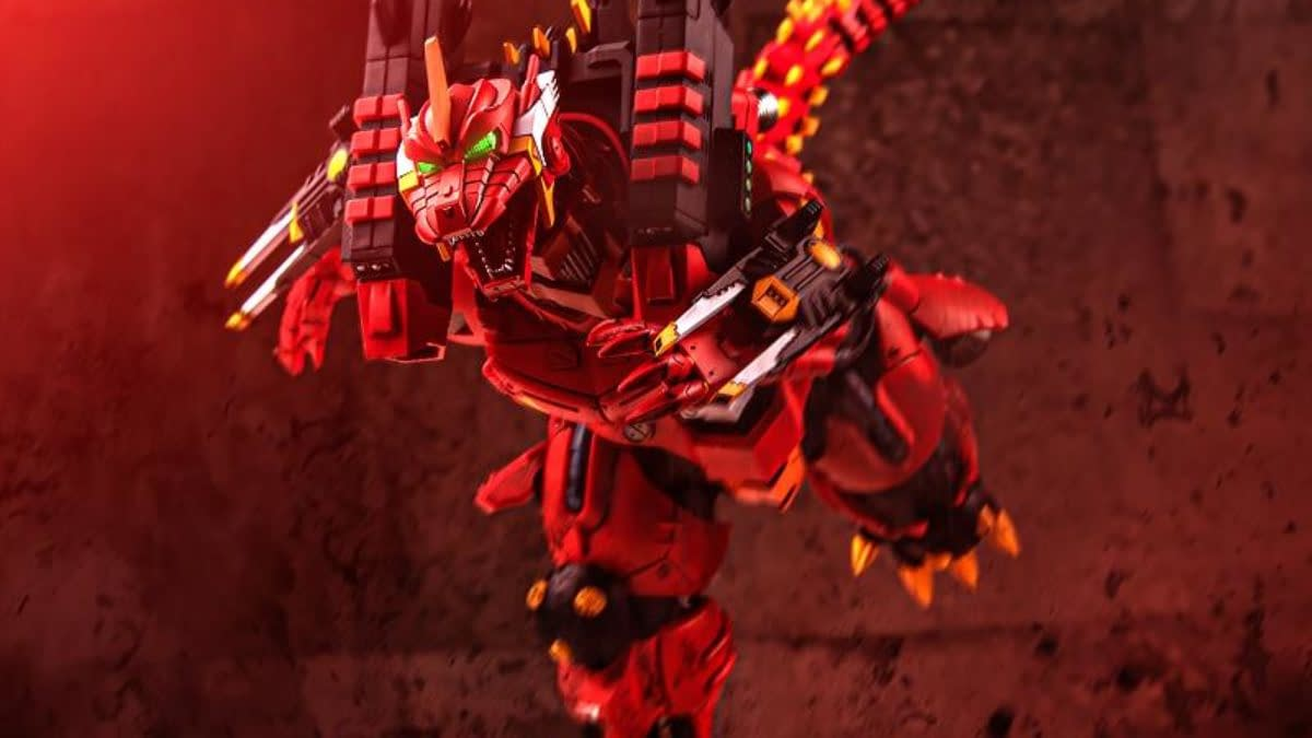 Evangelion EVA Unit-02 Godzilla Crossover Figure Arrives from Aoshima