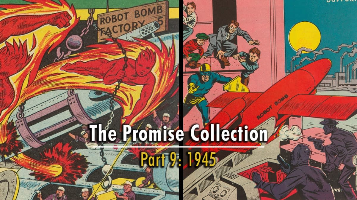 Marvel Mystery Comics #46, Star Spangled Comics #43 from the Promise Collection.