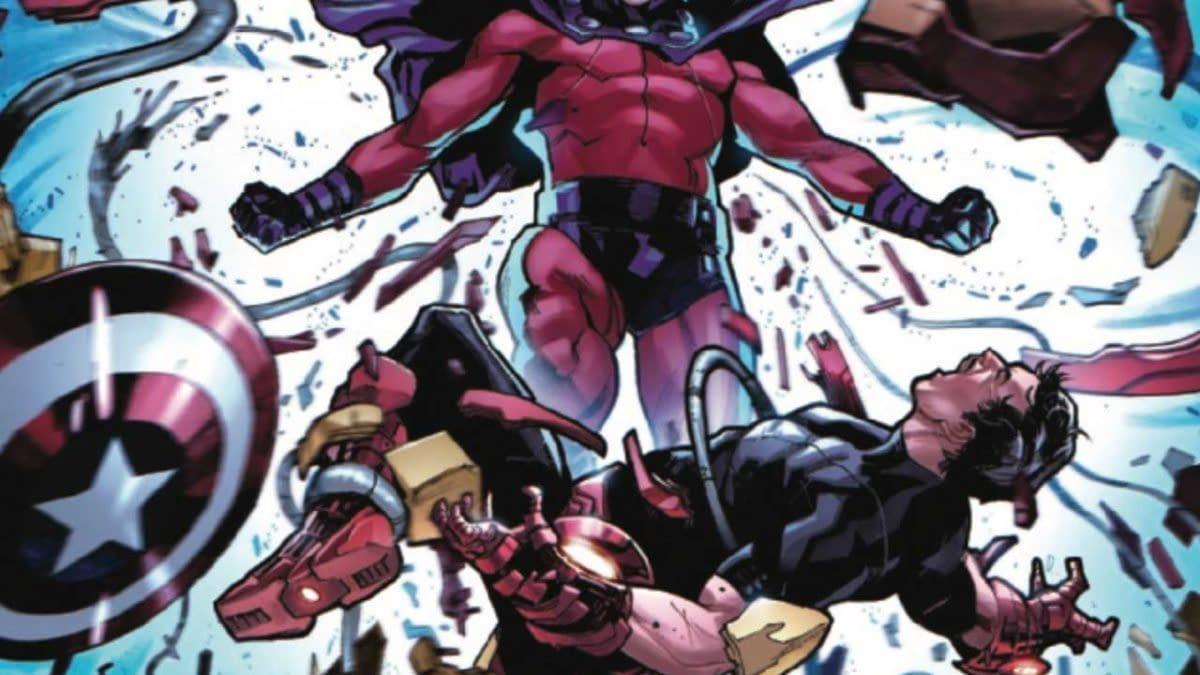 X-Men The Trial Of Magneto #2 Review: A Big, Splashy Mess