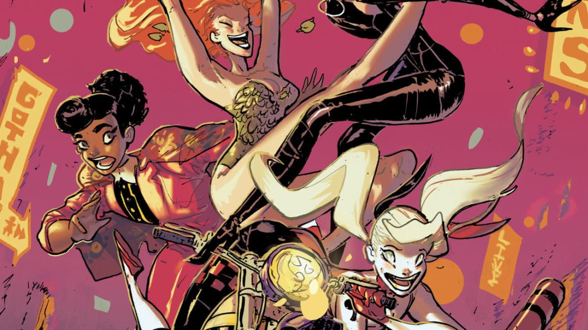 Cover image for HARLEY QUINN #8 CVR A RILEY ROSSMO (FEAR STATE)