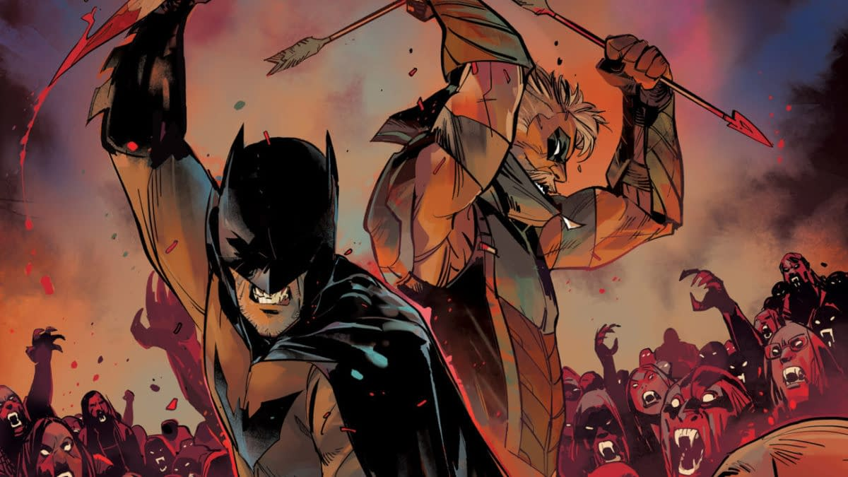 Cover image for DC VS VAMPIRES #1 (OF 12) CVR A OTTO SCHMIDT
