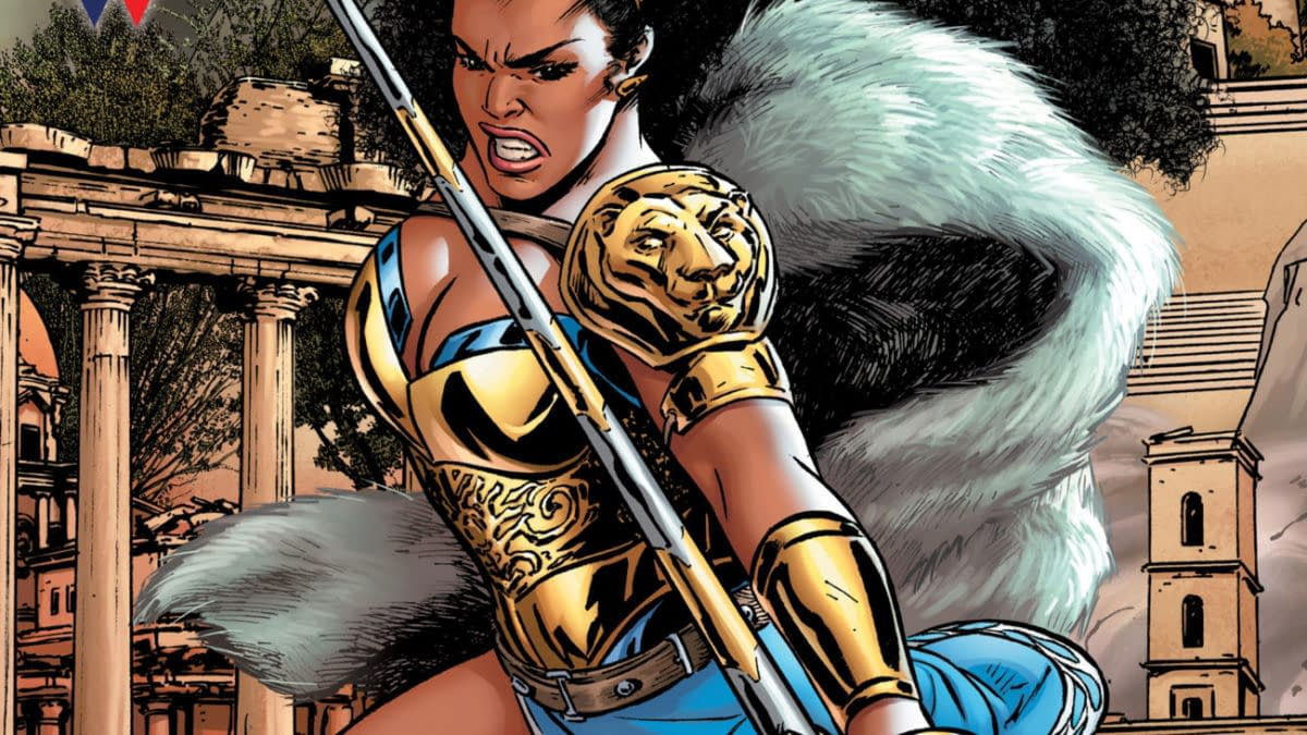 Cover image for NUBIA AND THE AMAZONS #1 (OF 6) CVR A ALITHA MARTINEZ