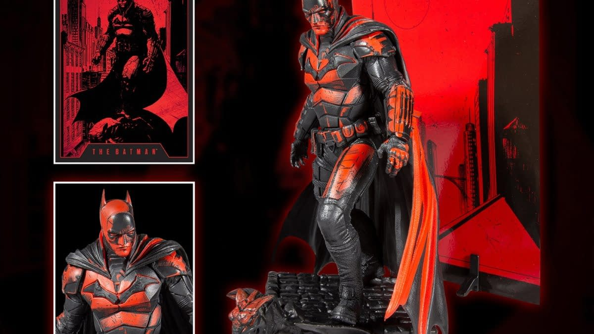 McFarlane Toys Brings The Batman to Life Once Again with New Figure