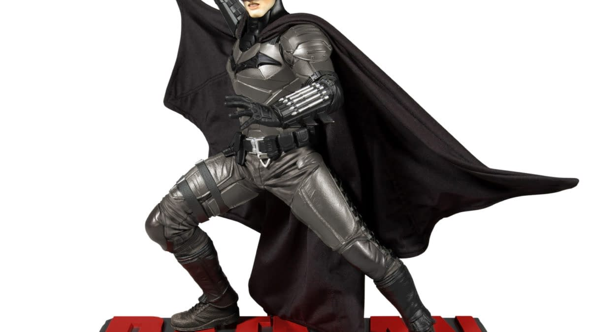 Pre-orders Arrive for Upcoming DC Direct/ McFarlane Toys The Batman Statues