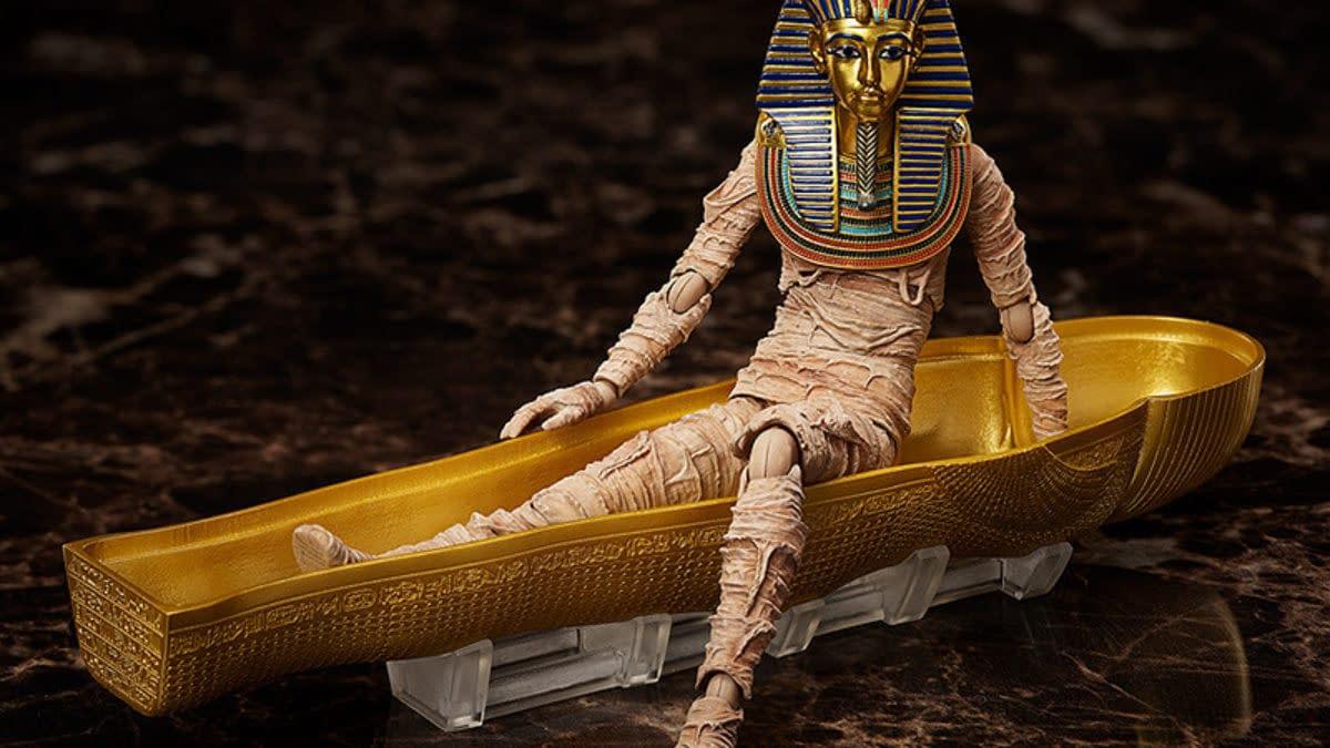 Freeing Reveals King Tutankhamun Table Museum Collection figma