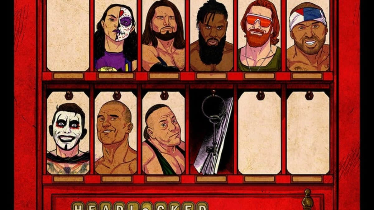 Stories by WWE and AEW Stars Featured in New Headlocked Comic