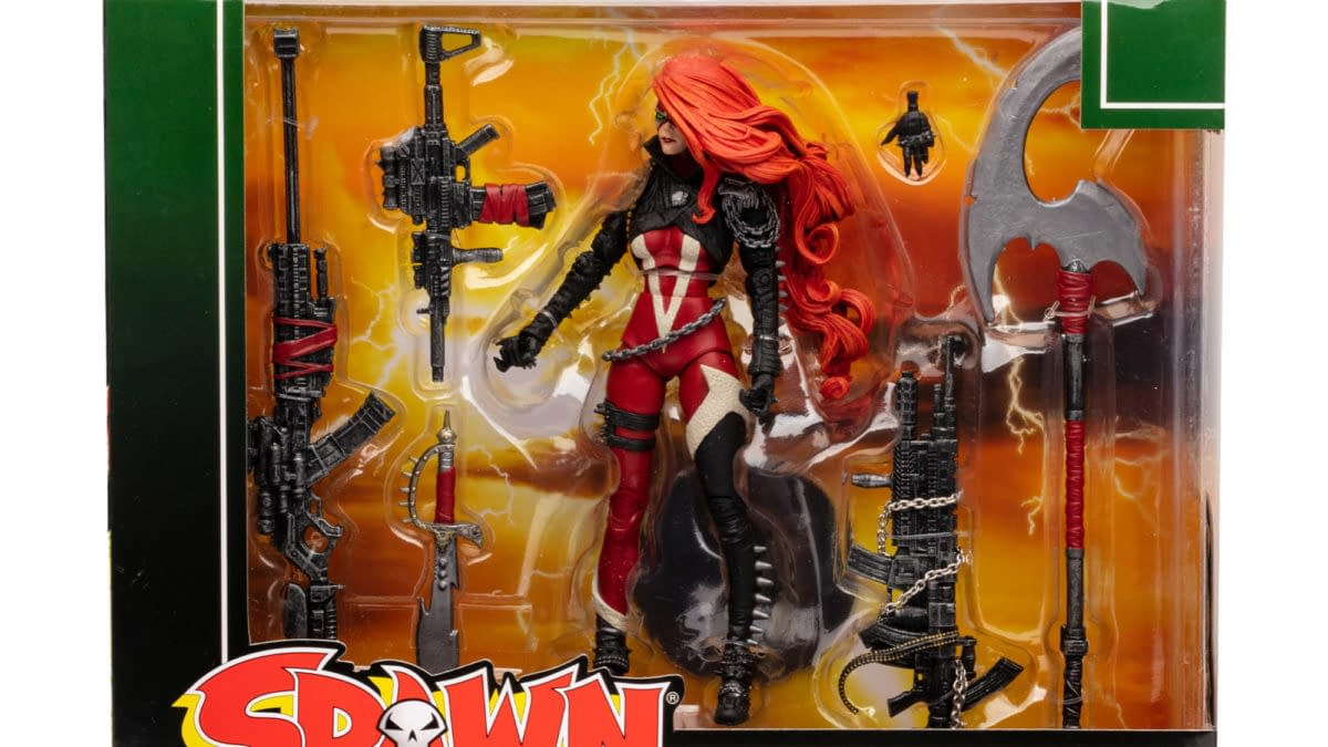 She-Spawn Brings the Firepower with New McFarlane Toys Figure