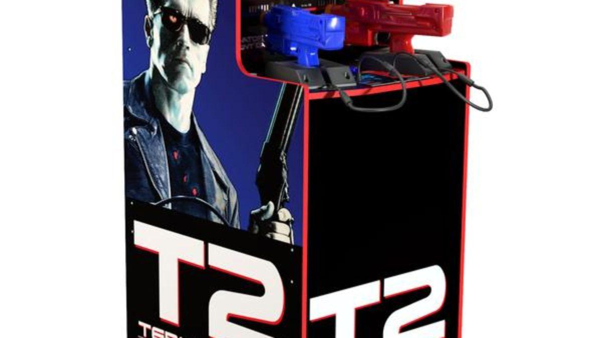 Arcade1Up Has Put The Terminator 2 Arcade Cabinet On Pre-Order
