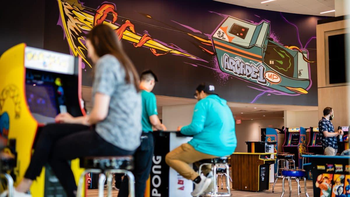 Arcade1Up & Miami Dolphins Partner On Hard Rock Stadium Lounge
