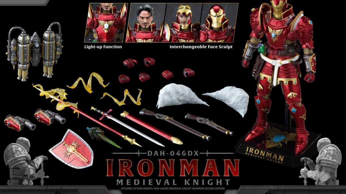 Iron Man Enters the Middle Ages with New Beast Kingdom Marvel Figure