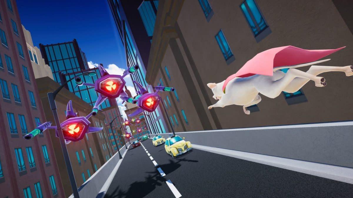 DC Comics Announces Super-Pets Video Game At DC Fandome