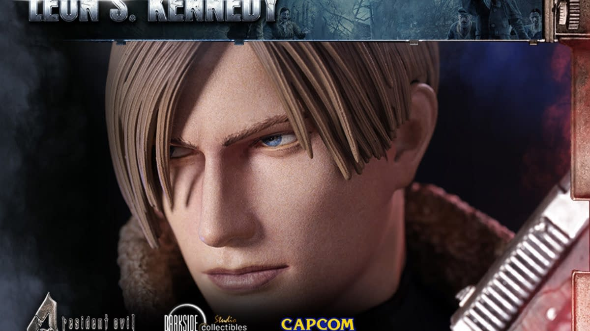 Resident Evil 4 Leon S. Kennedy Arrives from Darkside Collectibles