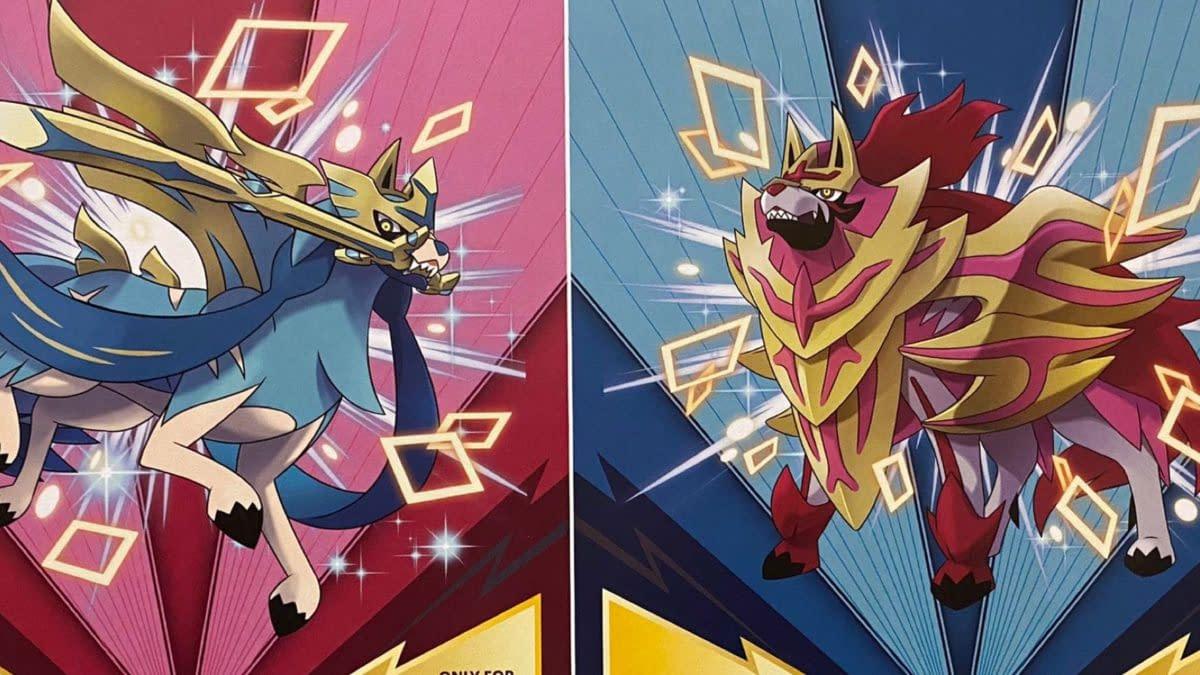 Gamestop Offers Shiny Zamazenta & Zacian in Pokémon: Sword & Shield