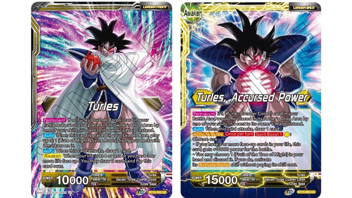 Dragon Ball Super Previews Saiyan Showdown: Turles Leader
