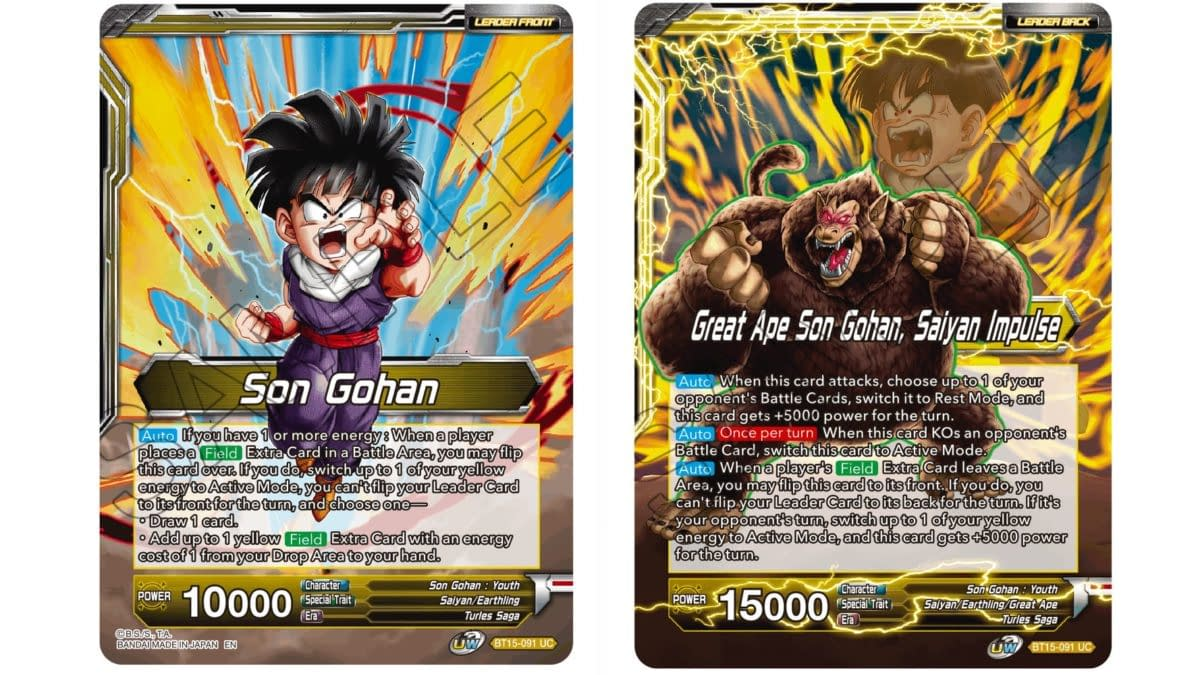 Dragon Ball Super Previews Saiyan Showdown: Son Gohan Leader