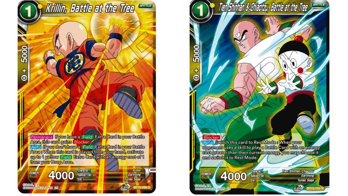 Dragon Ball Super Previews Saiyan Showdown: Krillin, Tien, Chiaotzu
