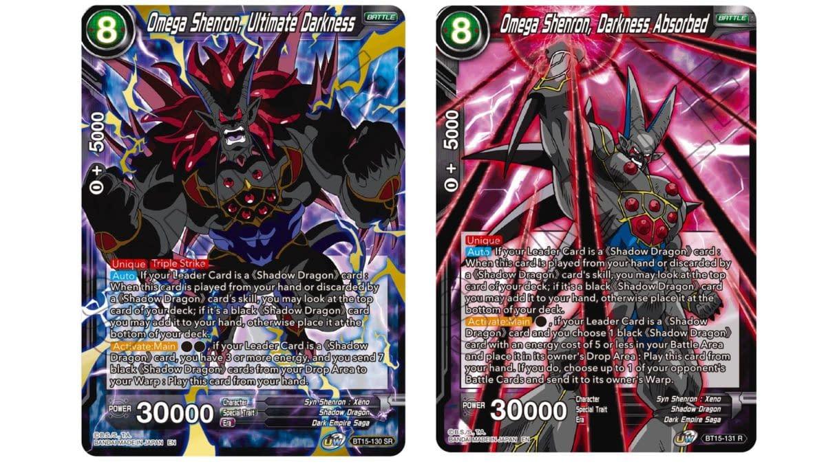 Dragon Ball Super Previews Saiyan Showdown: Towa Cards