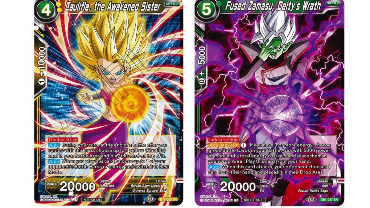 Dragon Ball Super Saiyan Showdown: Caulifla in Tournament Pack 6