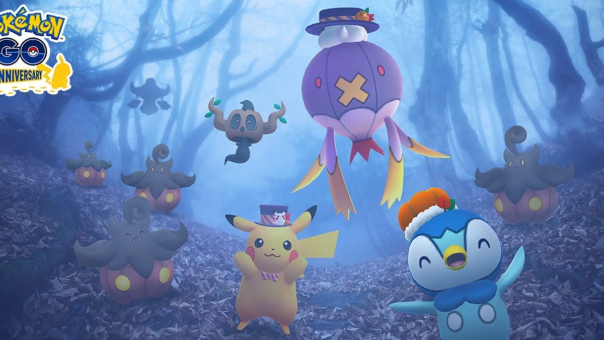 Tasks for Halloween 2021 Special Research in Pokémon GO