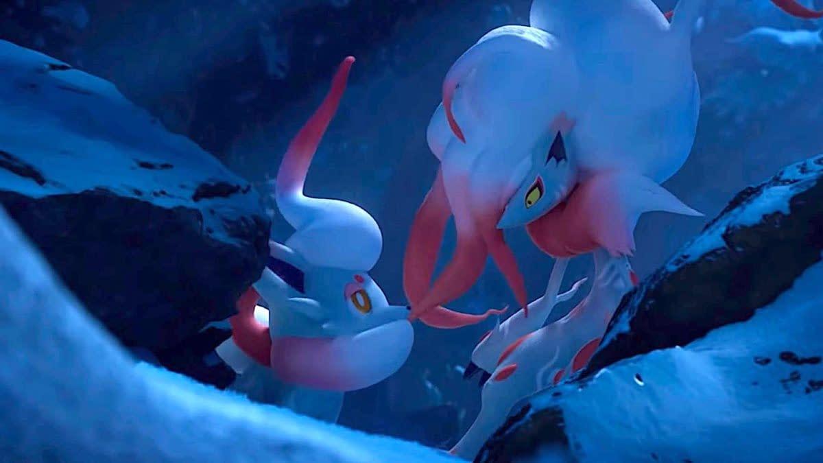 Hisuian Zorua & Zoroark to Arrive in Pokémon Legends: Arceus