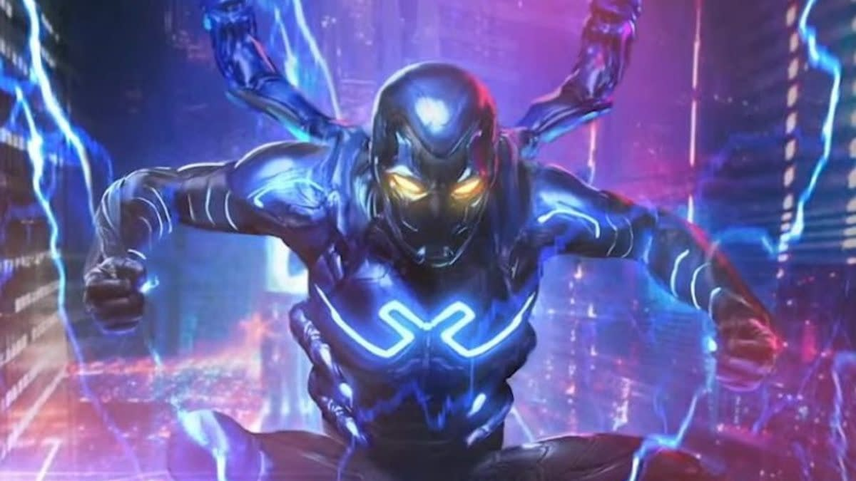 First Look at Concept Art for Blue Beetle